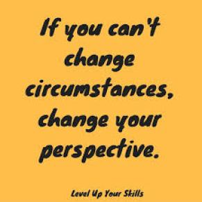 If you can't change circumstances, change your perspective. #Inspiration  https://levelupyourskills.com/quotes/mi… | Corny quotes, Perspective quotes,  Mindset quotes